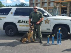 WCSO K9 FINISHES TOP 15 IN THE COUNTRY AT USPCA CANINE FIELD TRIALS