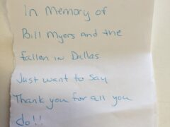 WCSO SUMMER CAMP SUPPLIES PAID FOR IN ANONYMOUS GESTURE