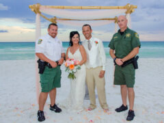DEPUTIES HELP WITH WEDDING CRISIS AT BLUE MOUNTAIN BEACH