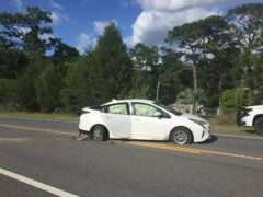 TEENS FLEE AFTER CRASHING STOLEN CAR; APPREHENDED BY WCSO
