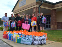 WCSO & WALTON COUNTY JAIL DONATE OVER 100 COMFORT CASES TO FLORIDA DCF