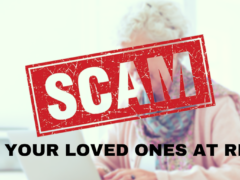 90-YEAR-OLD DEFRAUDED OUT OF $8,000;  SCAMMERS PICKED UP CASH IN PERSON