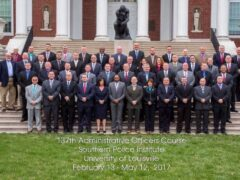 WCSO CAPTAIN GRADUATES FROM SOUTHERN POLICE INSTITUTE ADMINISTRATIVE OFFICERS COURSE