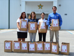 """""""CHRISTMAS IN JULY"""" DELIVERED TO WCSO"""