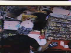 GAS STATION FIST FIGHT LEADS TO ONE ARREST