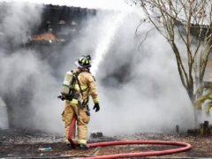 WCFR BATTLES FREEPORT HOUSE FIRE