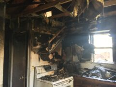 RESIDENTIAL FIRE DOUSED BY WALTON COUNTY FIRE RESCUE FIREFIGHTERS