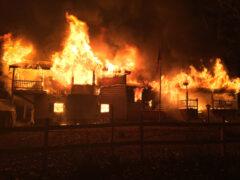 WALTON COUNTY FIRE RESCUE CREWS KNOCK DOWN MASSIVE RESIDENTIAL FIRE IN PONCE DE LEON