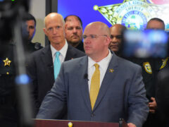 WCSO HOSTS GOVERNOR RICK SCOTT PRESS CONFERENCE TO ANNOUNCE MAJOR ACTION PLAN