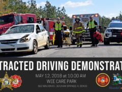 WCFR TO HOST MULTI-AGENCY MOCK CAR CRASH TO HIGHLIGHT THE DANGERS OF DISTRACTED DRIVING