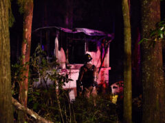 WCSO/WCFR RESPOND TO FATAL HOUSE FIRE IN  DEFUNIAK SPRINGS
