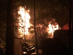 WCSO/WCFR RESPOND TO FATAL MOBILE HOME FIRE IN DEFUNIAK SPRINGS