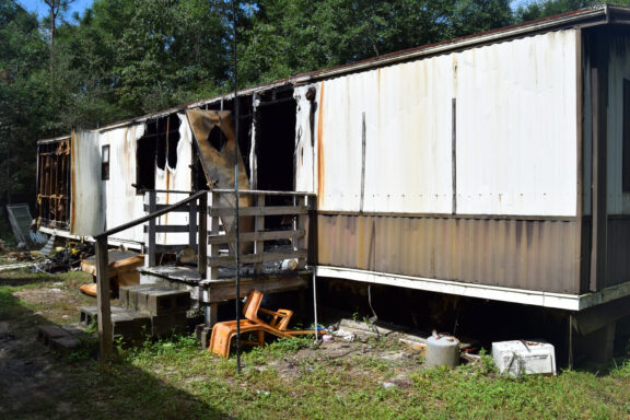 Fatal House Fire Aftermath