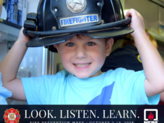 "FIRE PREVENTION WEEK: WCFR ENCOURAGES RESIDENTS TO ""LOOK. LISTEN. LEARN."""