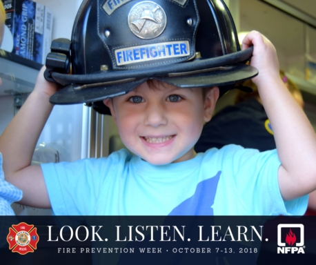 Fire Prevention Week - Look. Listen. Learn.