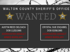 WCSO SEARCHING FOR TWO SUSPECTS WANTED FOR AGGRAVATED ASSAULT AND ARMED BURGLARY