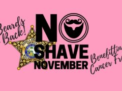 THE BEARDS ARE BACK; WCSO PARTICIPATES IN NO SHAVE NOVEMBER