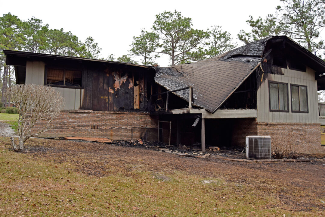 Pine Hill Drive Fire Damage