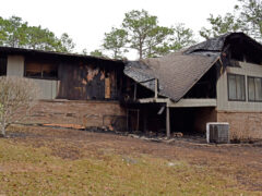 FIREFIGHTERS SAVE WALTON COUNTY SHERIFF'S OFFICE DEPUTY'S HOME