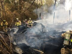 FIREFIGHTERS RESPOND TO SUSPICIOUS HOUSE FIRE IN REDBAY