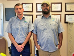 LANDFILL EMPLOYEES HELP SAVE WALTON COUNTY RESIDENT'S LIFE