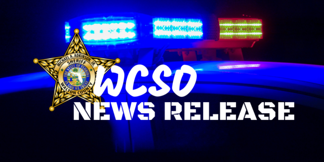 WCSO News Release Graphic