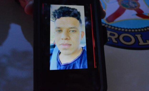 Photo of hit and run suspect 24-year-old Franklin Naun Caballero Velasquez