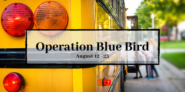 Operation Blue Bird Graphic
