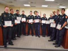 PROVIDING AN INVALUABLE SERVICE TO THE COMMUNITY; WCSO DEPUTIES AND FIREFIGHTERS GRADUATE FROM EMT SCHOOL