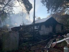 WALTON COUNTY FIRE RESCUE BATTLES HEAVY BLAZE IN VILLA TASSO