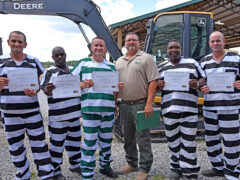 SECOND CLASS OF INMATES GRADUATE FROM HEAVY EQUIPMENT PROGRAM AT WALTON COUNTY JAIL