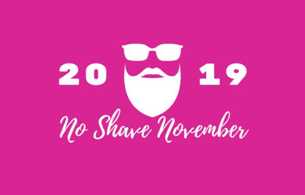Pink No Shave November 2019 graphic