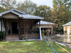 FIREFIGHTERS SAVE A FAMILY'S HOME JUST IN TIME FOR THE HOLIDAYS