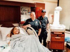 WCFR EMS CREW HELPS DELIVER BABY BOY INSIDE AMBULANCE