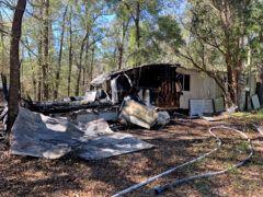 WCFR & WCSO RESPOND TO FATAL MOBILE HOME FIRE IN FREEPORT