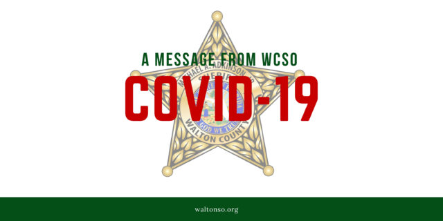Graphic with WCSO star logo.