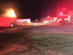 FIRE BREAKS OUT INSIDE PAXTON AUTO PARTS; FIREFIGHTERS KNOCK DOWN FLAMES