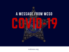 A MESSAGE FROM WCSO REGARDING COVID-19 CASE REPORTING