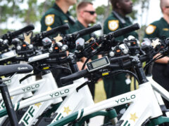 BRIAN KELLEY OF FLORIDA GEORGIA LINE AND YOLO DONATE 15 ELECTRIC BIKES TO WCSO