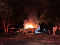 WALTON COUNTY FIRE RESCUE RESPONDS TO FATAL RESIDENTIAL FIRE IN FREEPORT