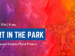 WCSO PARTNERS WITH DRIFTWOOD ESTATES HOA TO BRING ART MURALS TO WALTON COUNTY PARK