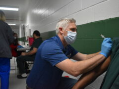 65 INMATES RECEIVE FIRST DOSE OF COVID VACCINE AT WALTON COUNTY JAIL
