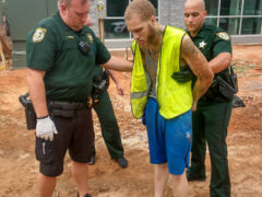 ARMED CARJACKING SUSPECT IN CUSTODY; HOSPITALIZED AFTER SPENDING FIVE DAYS IN WOODS