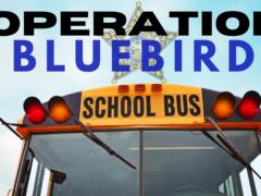 OPERATION BLUE BIRD BEGINS TOMORROW AS WALTON COUNTY STUDENTS HEAD BACK TO SCHOOL